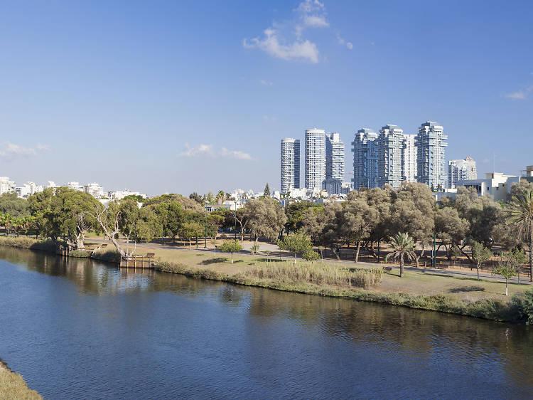 A day at Hayarkon Park