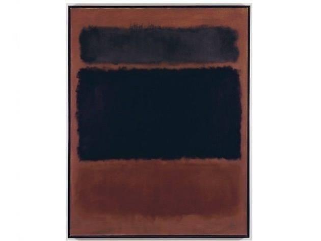 """Mark Rothko, """"Dark Palette"""""""