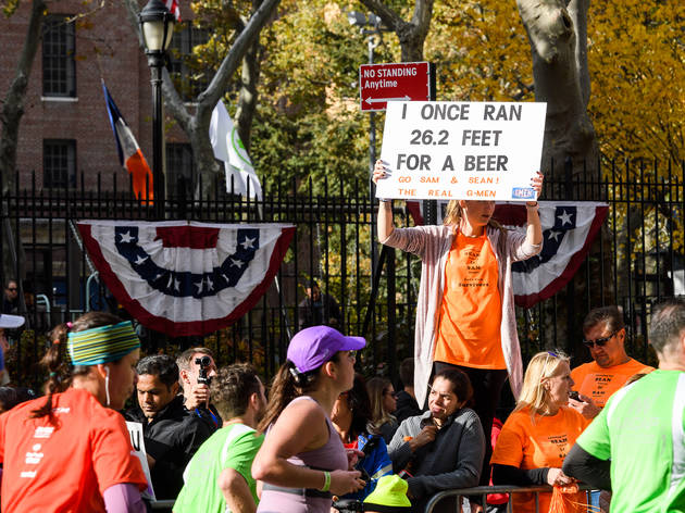 Photos of funny marathon signs from the 2016 NYC Marathon