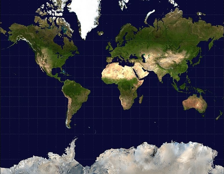 The most accurate world map out there wins a Good Design Award