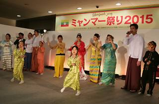 ミャンマー祭り 2016