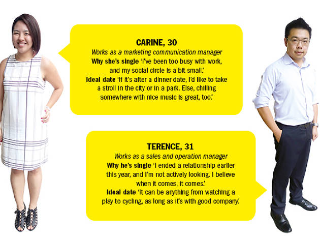 Find me a date: Terence and Carine