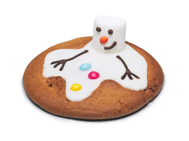 Pret Christmas specials, Melvin the snowman cookie