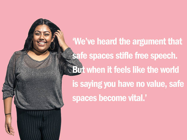 Afrin Ahmed on safe spaces
