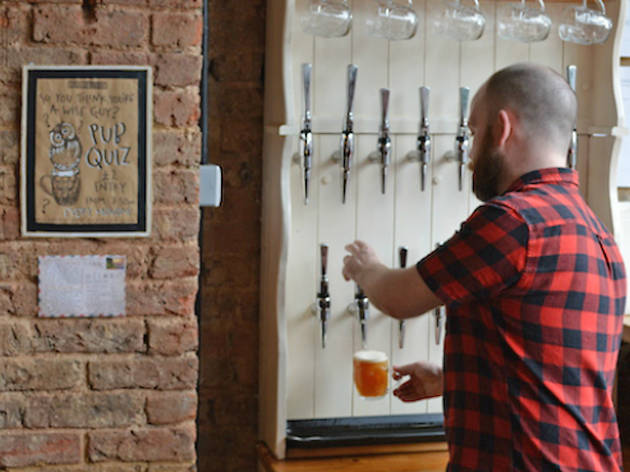 london's best craft beer bars and pubs, beer rebellion