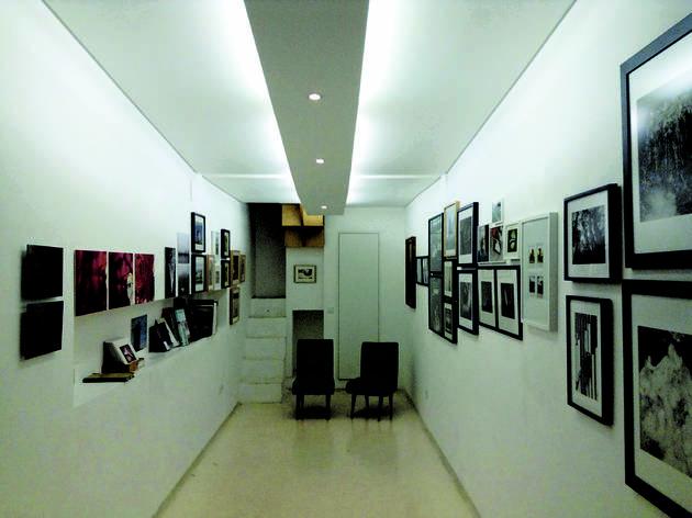 A pequena galeria
