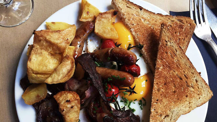 Marcel Brunch Full English (© Leonie Cater/ Time Out Paris)