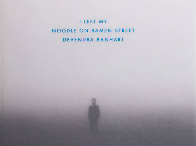 El libro de Devendra Banhart, I Left My Noodle on Ramen Street Drawings and Paintings,