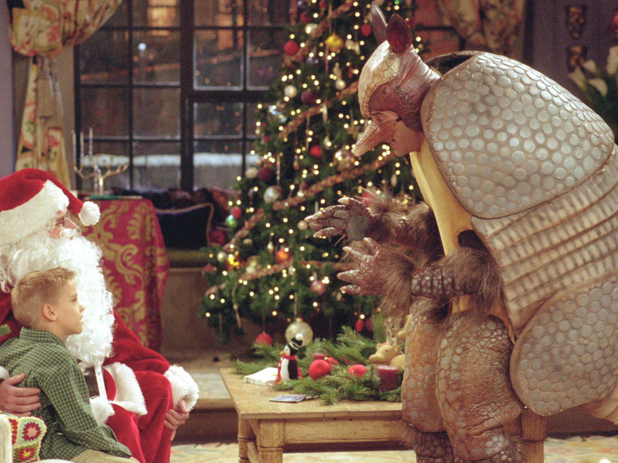 "Friends: ""The One With the Holiday Armadillo"" – Temporada 6, episodio 10."
