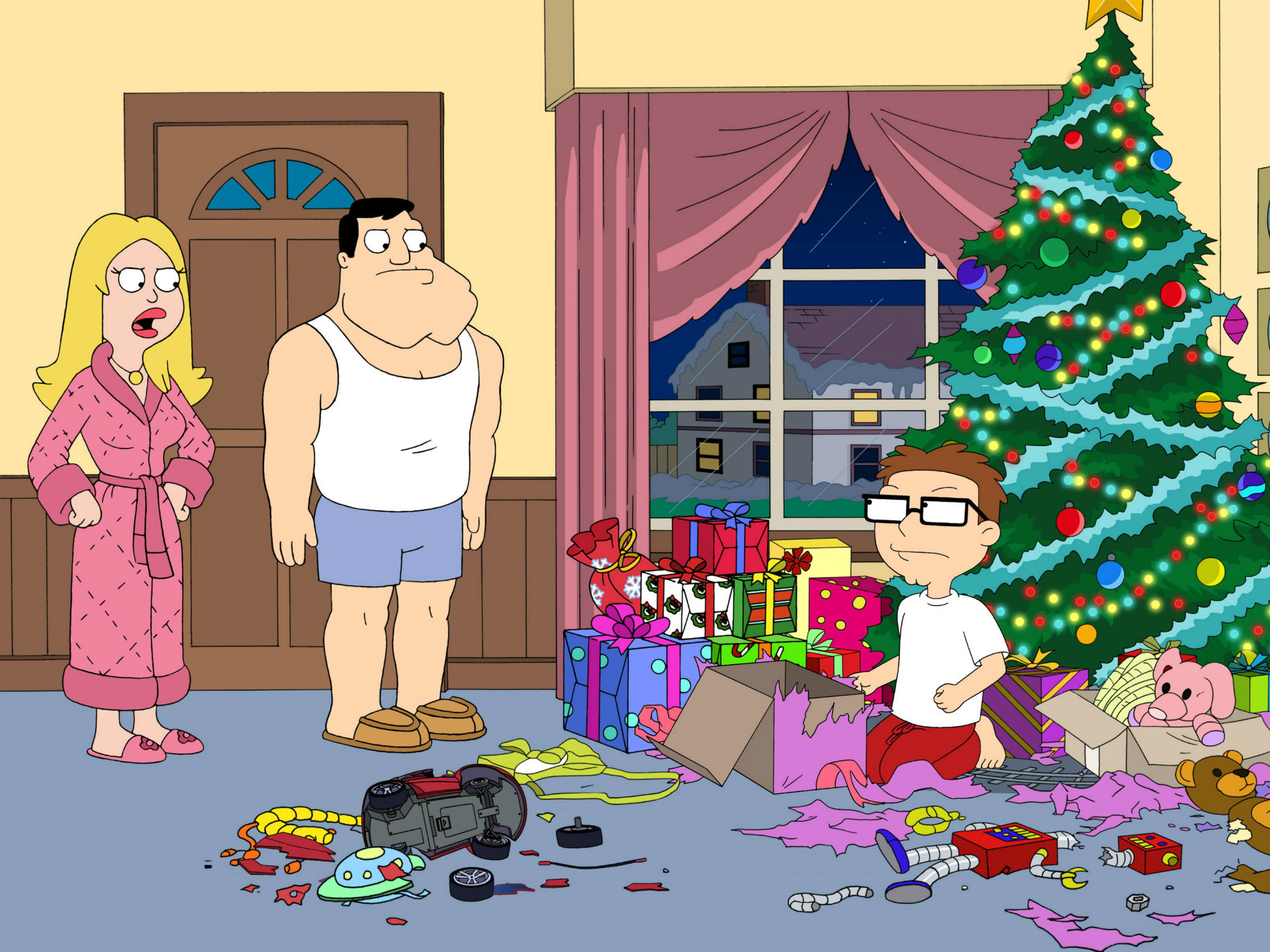 "American Dad!: ""Minstrel Krampus"" – Temporada 9, episodio 8."