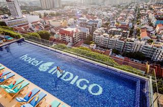 Hotel Indigo, rooftop infinity pool