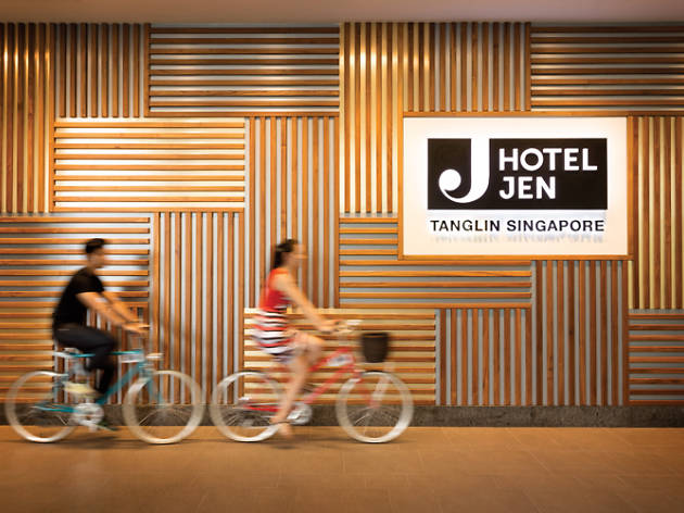 Hotel Jen Tanglin Singapore, Unwind bicycle