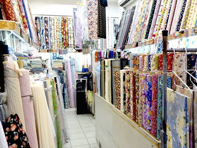 Malin Textile Shopping In Chinatown Singapore