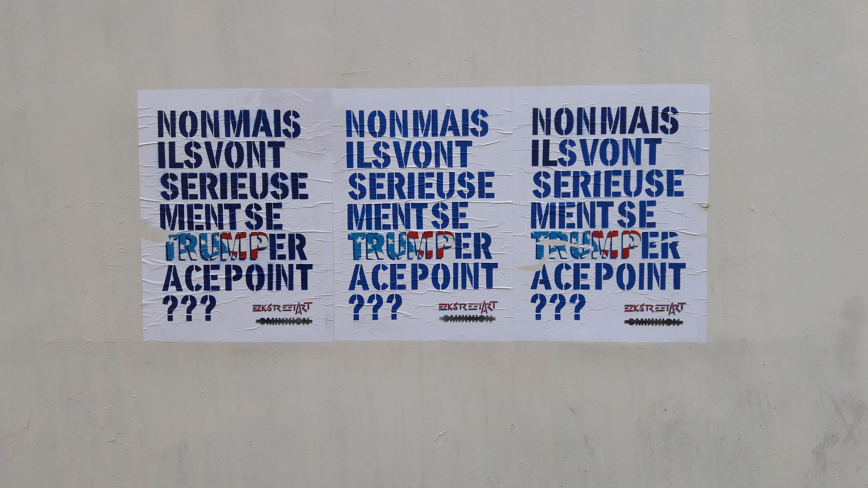 Le street art engagé contre Donald Trump