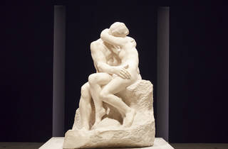 Nude Art From the Tate Collection 2016 Art Gallery of NSW installation view 02 feat Auguste Rodin The Kiss