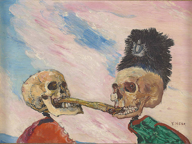 Intrigue: James Ensor By Luc Tuymans