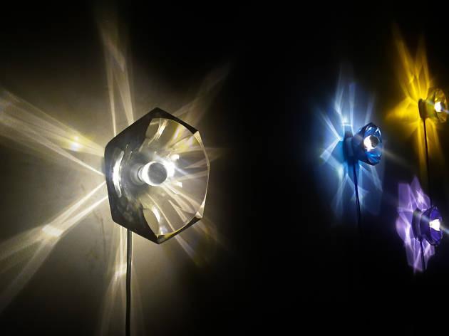 Experimentos de luz de Orfeo Quagliata para FILUX