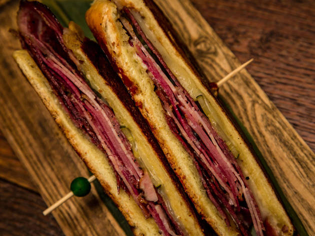 Doce Provisions Cuban sandwich