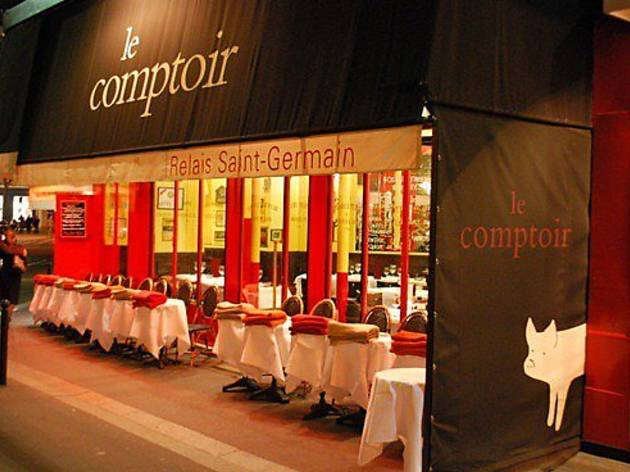 le comptoir du relais restaurants od on paris. Black Bedroom Furniture Sets. Home Design Ideas