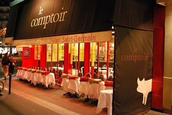 le comptoir du relais restaurants in od on paris. Black Bedroom Furniture Sets. Home Design Ideas