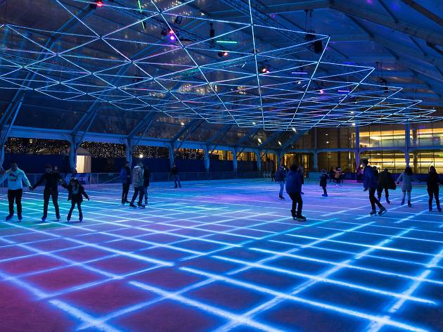 Canary Wharf Ice Rink Things To Do In London
