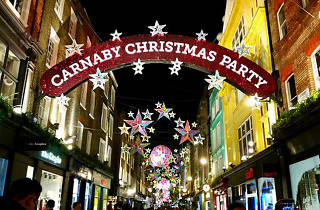 The Carnaby Street Christmas lights are being switched on tonight