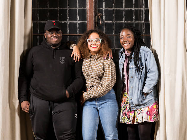 Luther, Maria and Rashidat