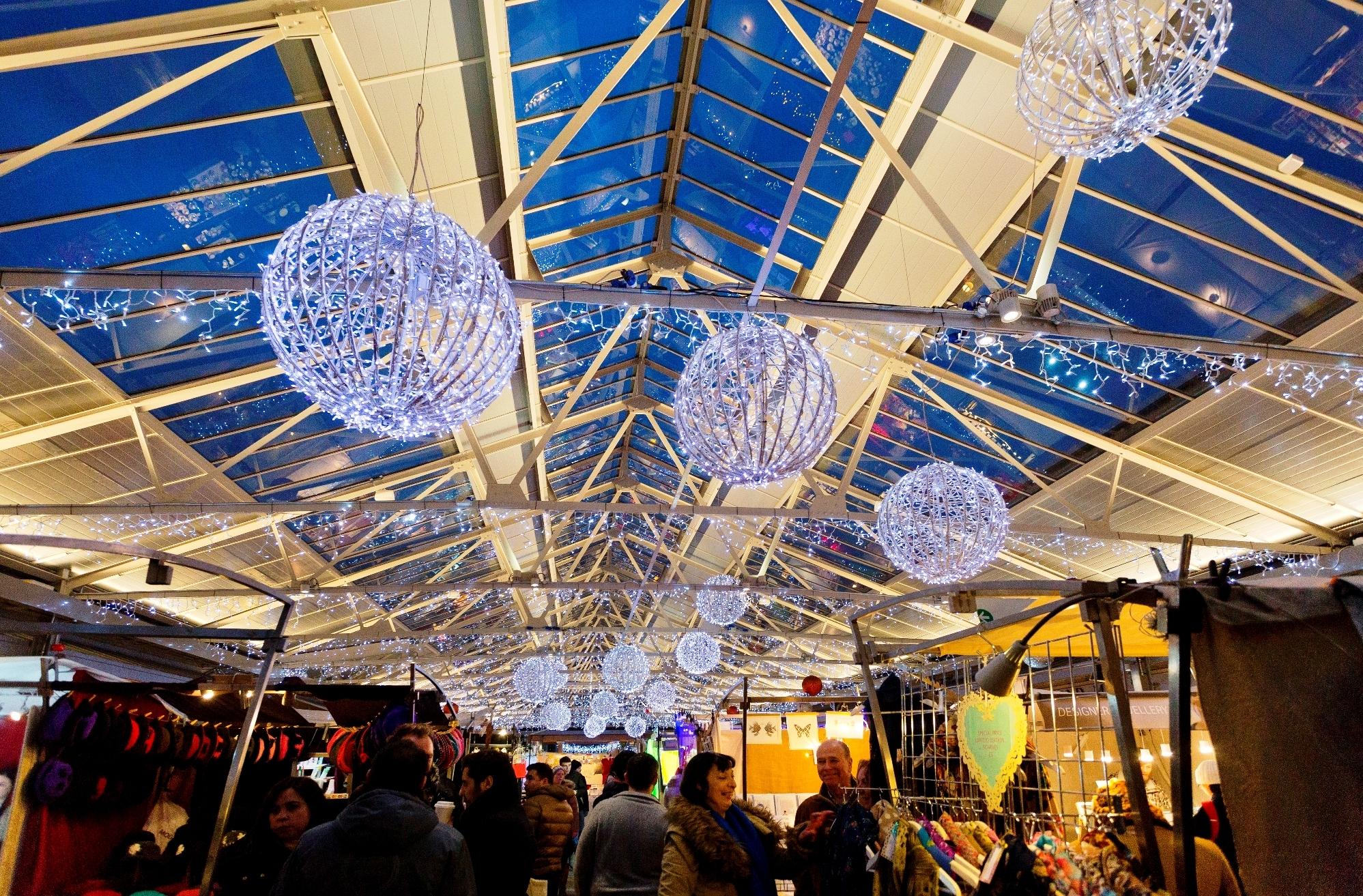 Greenwich Hospital, Greenwich Market at Christmas, Xmas Lights, 2015