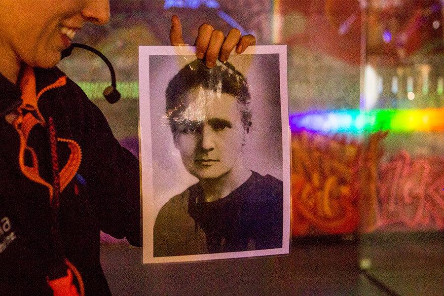 Marie Curie, CosmoCaixa