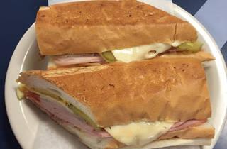 El Pub cuban sandwich