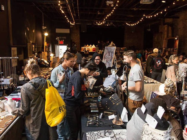 Holiday markets with awesome live music, DJs and booze
