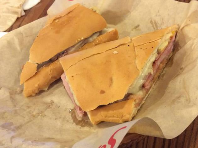 Sergio's Cuban sandwich