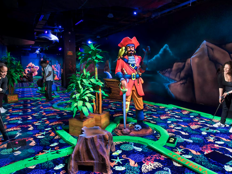 Indoor amusement parks and fun zones near NYC