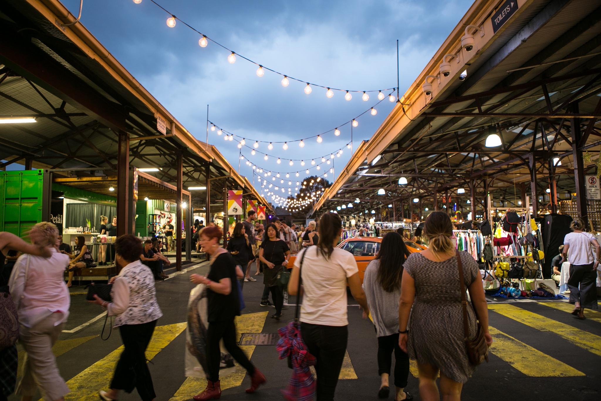 Queen Victoria Summer Night Markets