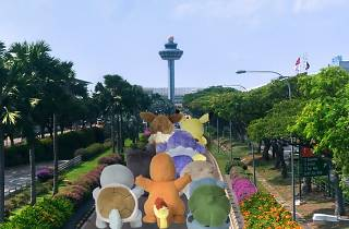 Pokémon Catch 'Em All at Changi Airport