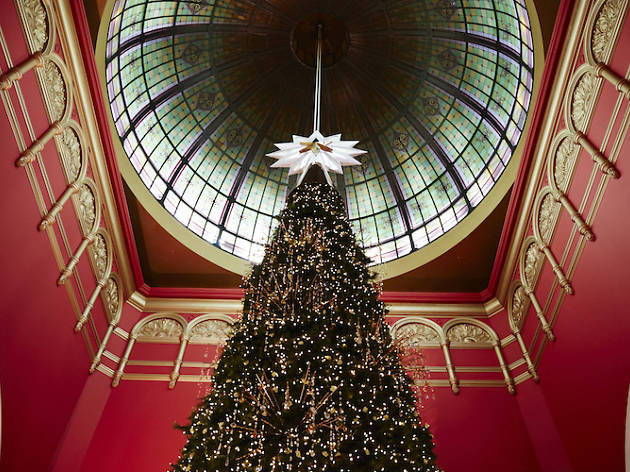Christmas Tree in Queen Victoria Building