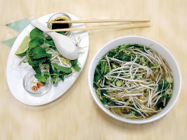 Have a Vietnamese soup