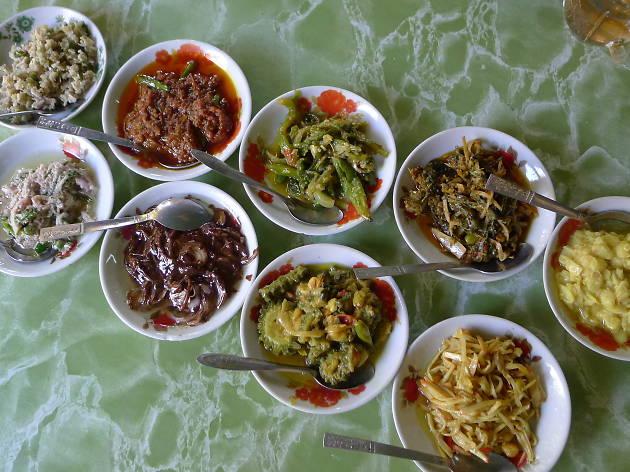 Bagan food