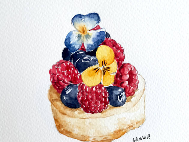 HUBBA-TO basic watercolour