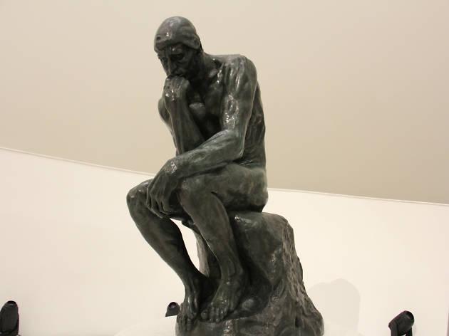 El pensador de Auguste Rodin en el Museo Soumaya
