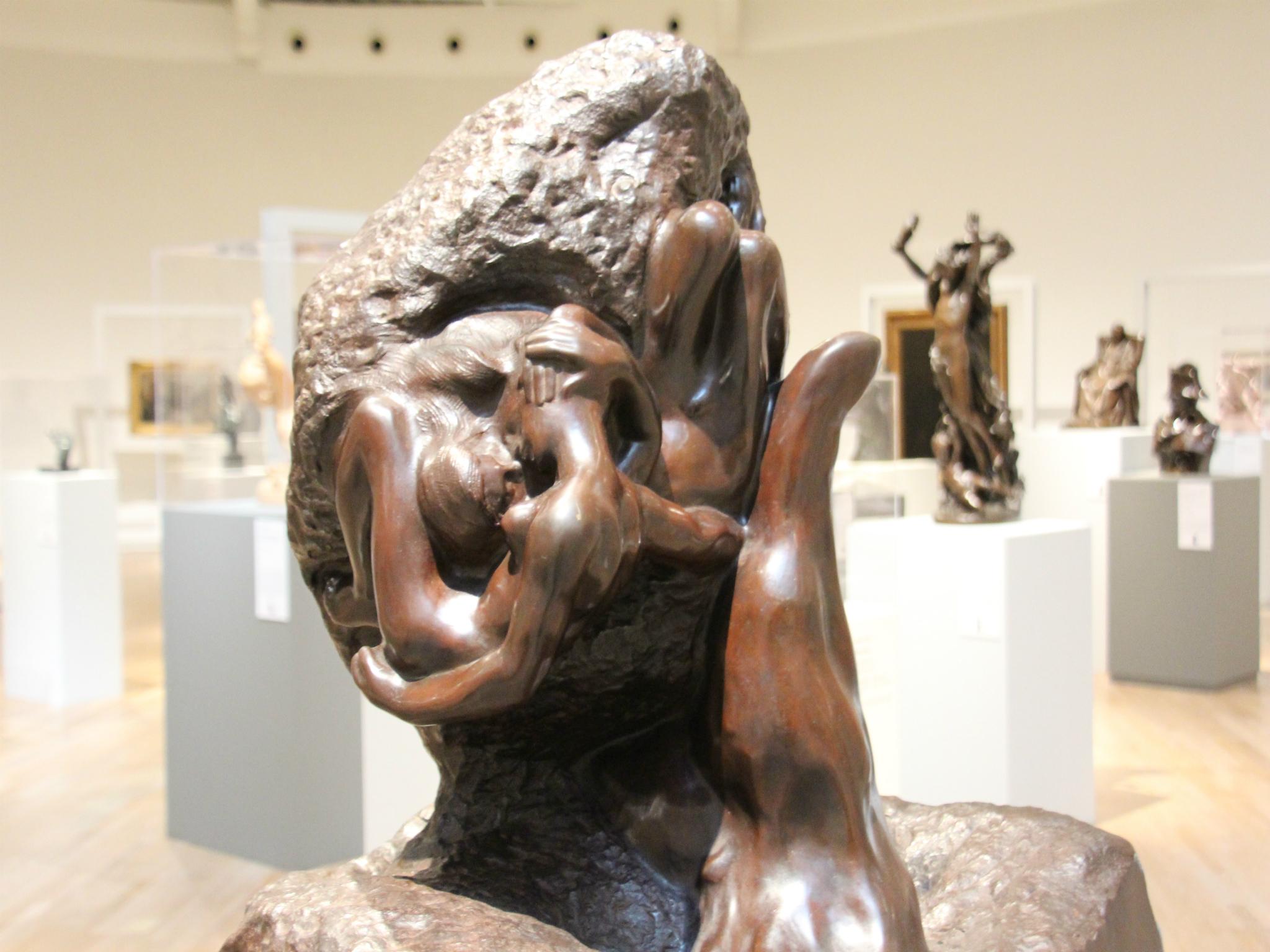 La mano de Dios de Auguste Rodin en el Museo Soumaya