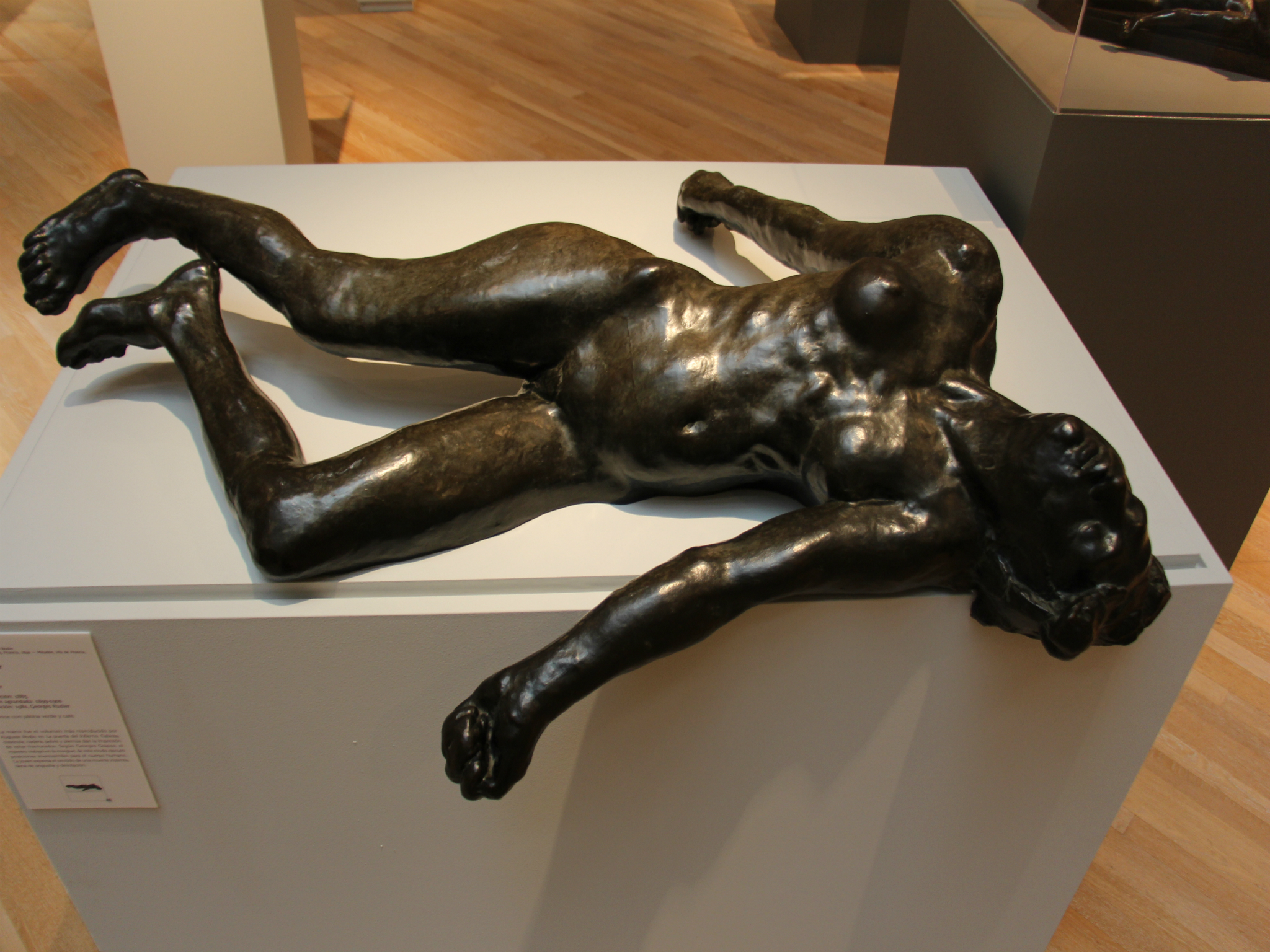 La mártir de Auguste Rodin en el Museo Soumaya