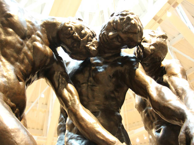 Las tres sombras de Auguste Rodin en el Museo Soumaya