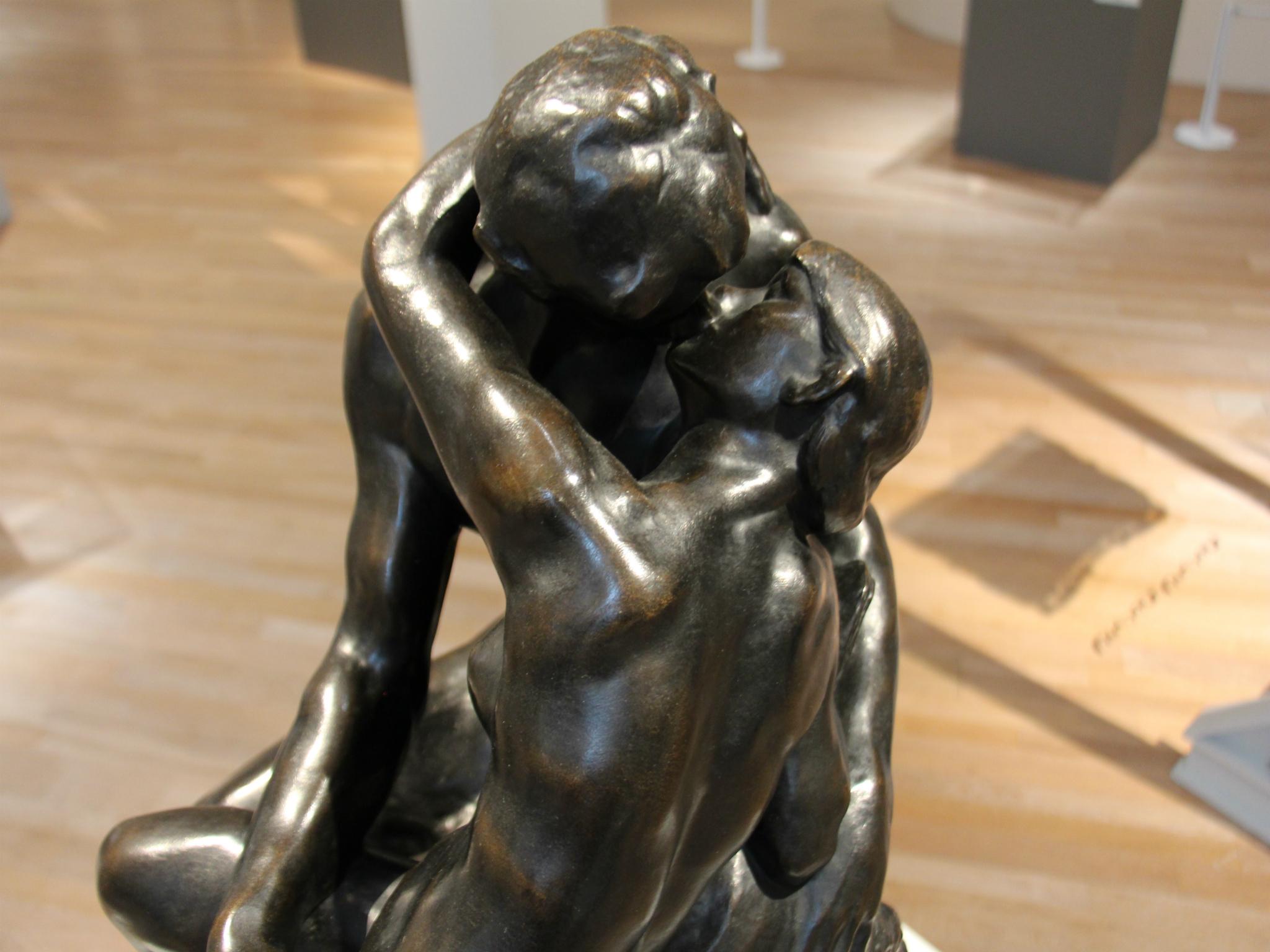 El beso de Auguste Rodin en el Museo Soumaya