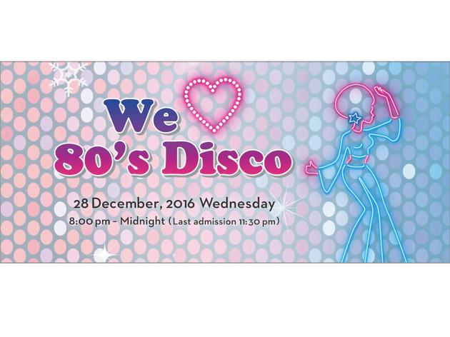 we love 80's disco