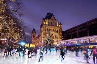 Five people you meet when you go ice skating in London