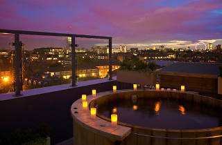 Ten of the best hotel jacuzzis in London, Bermondsey Square Hotel