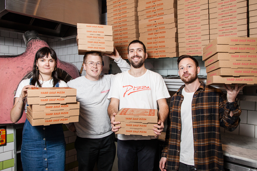 London's most-loved restaurant: Yard Sale Pizza