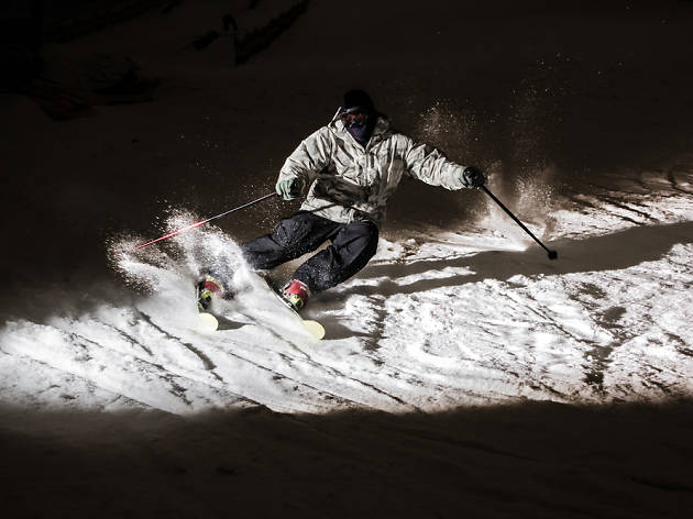 Esquiar de nit