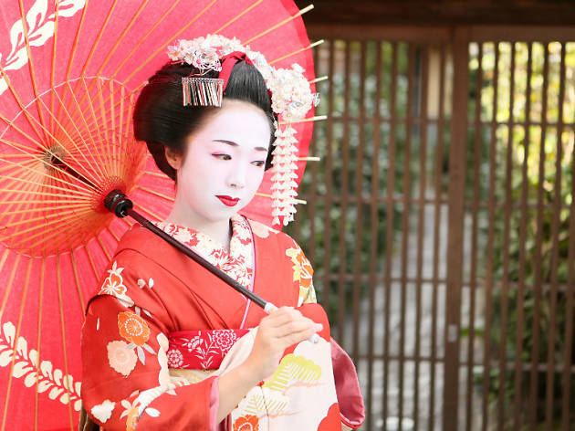 tourism japan, geisha